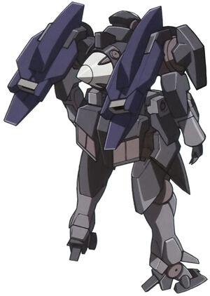 Rear (Commander w/GN Particle Tanks)