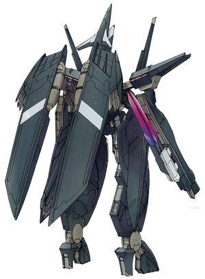 GNW-20003 - Arche Gundam Drei - Back View