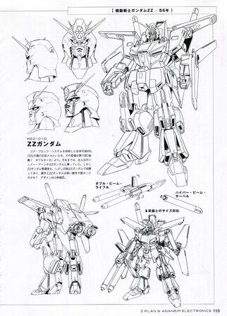 File:MSZ-010 ZZ Gundam Lineart.jpg