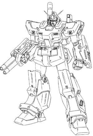 FA-78NT-1 Full Armor Gundam ALEX