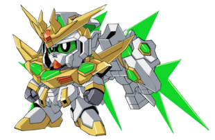 Front (SD Gundam Mode)