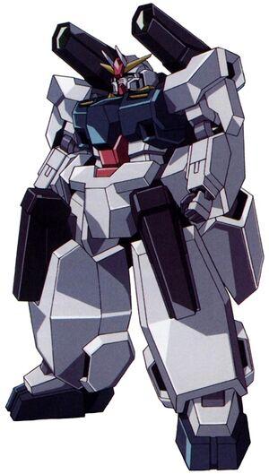 GN-008 - Seravee Gundam - Front View