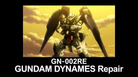 MS0W06 GUNDAM DYNAMES Repair (from Mobile Suit Gundam 00 Theatrical Edition)