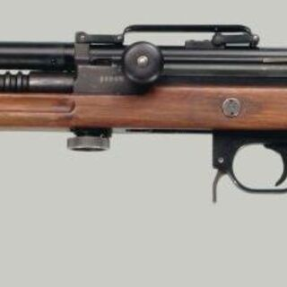 Madsen LAR chambered in 7.62x39mm for Finnish Army Trials.
