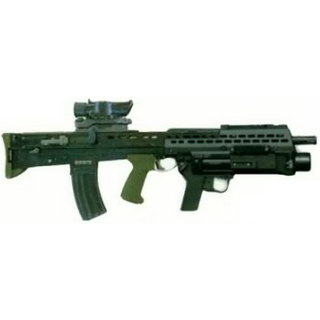 L85A2 with an <a href=