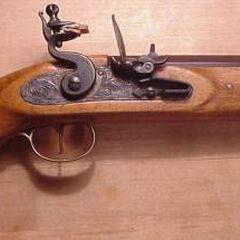 A typical flintlock <a href=