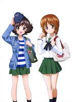 Miho and Yukari