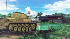 Panzer II fishing