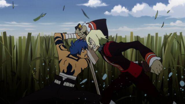 File:Viral and kamina fighting.jpg