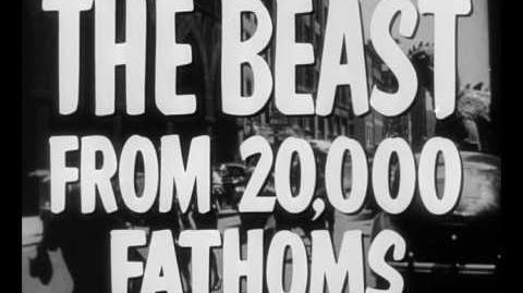 The Beast from 20,000 Fathoms (1953) Trailer