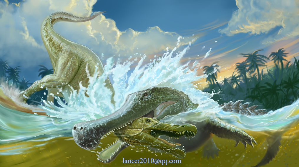 Sarcosuchus | Ray Harr...