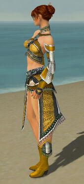 Elementalist Elite Luxon Armor F dyed side