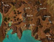 Marga Coast Bounty Locations