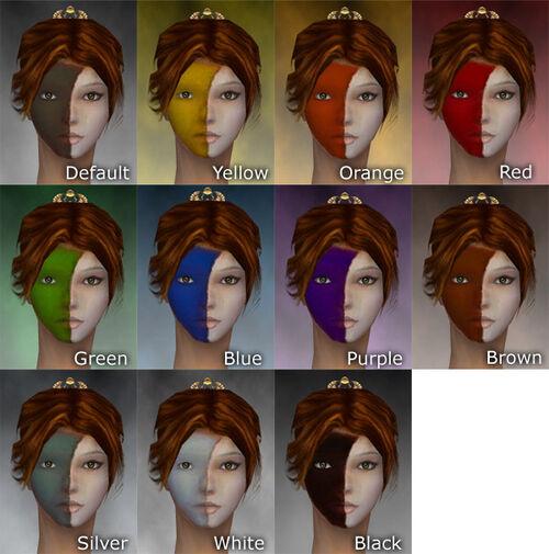 Highlander Woad F dye chart