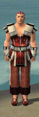 Monk Elite Sunspear Armor M dyed front