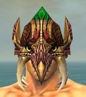 Tengu Mask dyed front