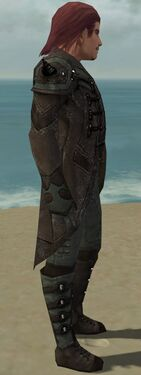 Mesmer Obsidian Armor M gray side