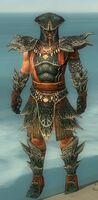 Warrior Luxon Armor M gray front