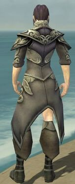 Elementalist Monument Armor M gray chest feet back