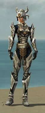 Warrior Elite Sunspear Armor F dyed front