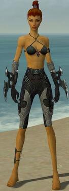Assassin Kurzick Armor F gray arms legs front