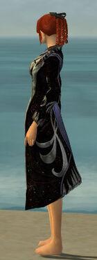 Elegant Long Coat F gray side