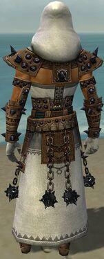 Dervish Obsidian Armor M dyed back