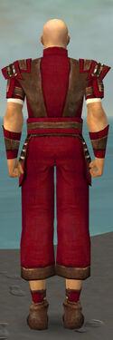 Monk Censor Armor M dyed back