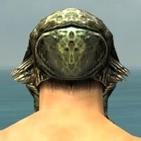 Demon Mask gray back