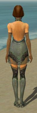 Mesmer Elite Enchanter Armor F gray chest feet back