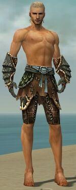 Ranger Luxon Armor M gray arms legs front