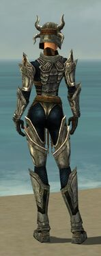 Warrior Elite Sunspear Armor F gray back