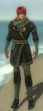 Mesmer Luxon Armor M gray front