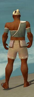 Monk Ascalon Armor M gray chest feet back