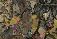Ajamahn, Servant of the Sands Location-Easier Way