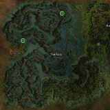 The Falls rider spawn locations