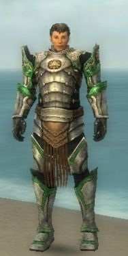 Warrior Sunspear Armor M nohelmet