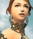 Mesmer Enchanter Armor F gray earrings