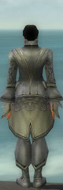 Elementalist Kurzick Armor M gray back