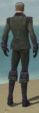 Mesmer Elite Elegant Armor M gray back