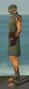 Ritualist Shing Jea Armor M gray side