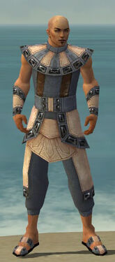 Monk Obsidian Armor M gray front