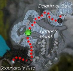 Snow Ettin (Monk Boss) map