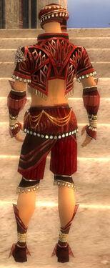 Ritualist Vabbian Armor M dyed back
