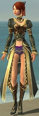 Mesmer Vabbian Armor F gray chest feet front