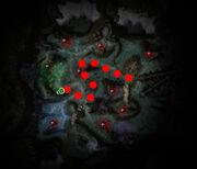 The Shadow Nexus map