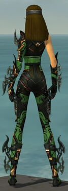 Assassin Elite Kurzick Armor F dyed back