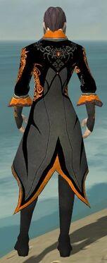 Elementalist Elite Kurzick Armor M dyed back