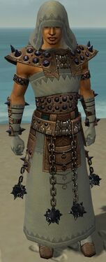 Dervish Obsidian Armor M gray front