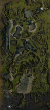 Twin Serpent Lakes map